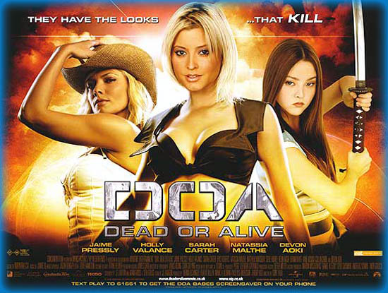 Doa Dead Or Alive 2007 Movie Review Film Essay