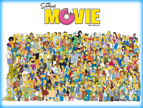 The Simpsons Movie 2007 Movie Review Film Essay