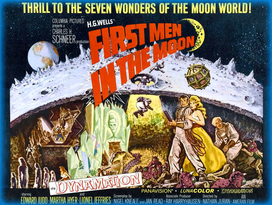First Men in the Moon (1964) - Movie Review / Film Essay