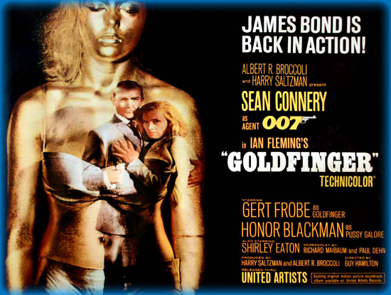 Goldfinger 1964 Movie Review Film Essay