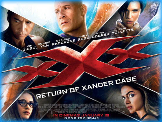 Xxx Return Of Xander Cage 2017 Movie Review Film Essay