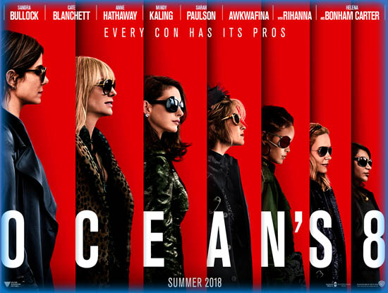 Ocean S Eight Ocean S 8 2018 Movie Review Film Essay