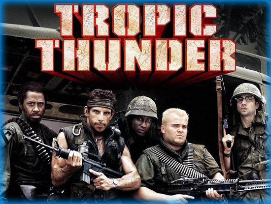 Tropic Thunder 2008 Movie Review Film Essay
